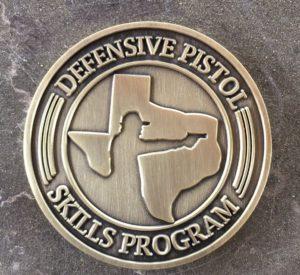 KR Training Defensive Pistol Skills Program Challenge Coin